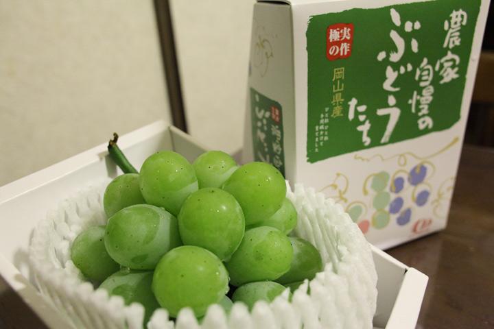 一度食べてみたかった・・・こんな葡萄