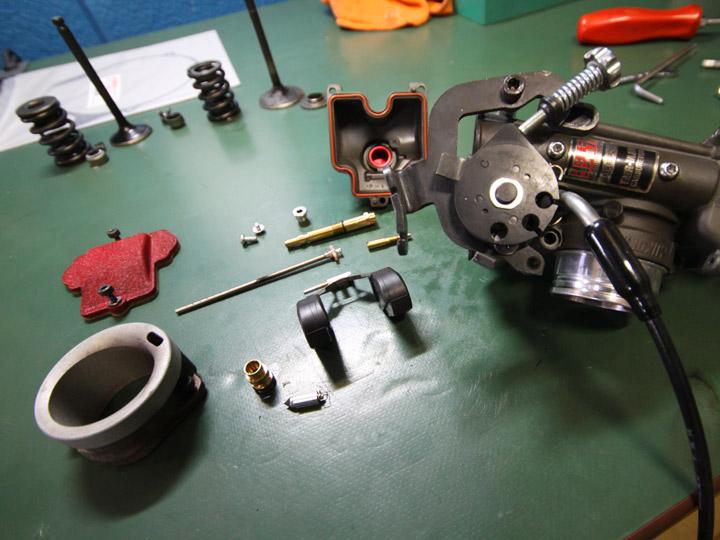 SR400 整備