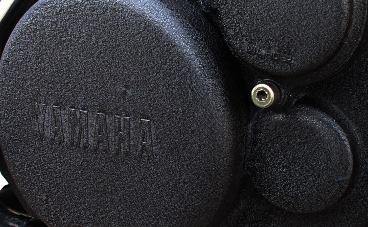 SR400 シングルシート