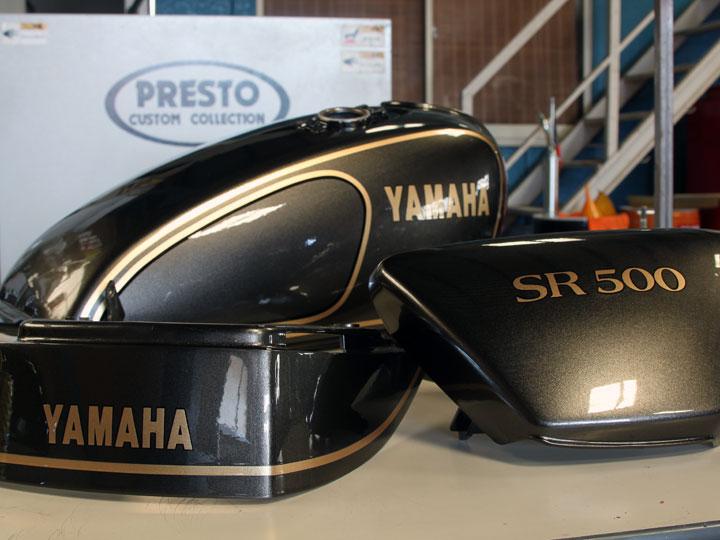 SR400外装ペイント 初期型カラー