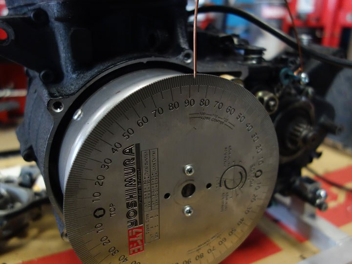 SRエンジンのバルブタイミング
