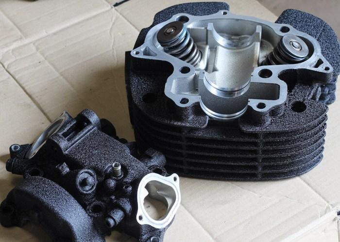 結晶塗装 エンジン